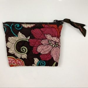 Vera Bradley Mod Floral Pink Coin Pouch Wallet